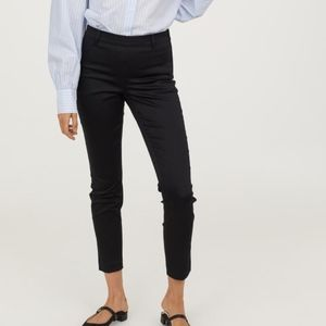 H&M Ankle-length slacks in woven stretch fabric